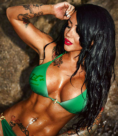 Fitness & Tattoomodel: Lusy Skaya